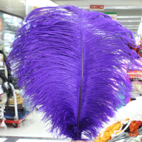 Wholesale 10-100pcs High Quality Natural OSTRICH  FEATHERS 16-20inch//40-50cm