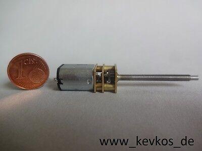 Mini Elektro-Motor mit Getriebe (N20, 6V, 200 U/min) M3 Gewinde DC Modellbau RC