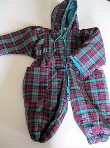 Tuta con cappuccio imbottita per neonato di 6 mesi