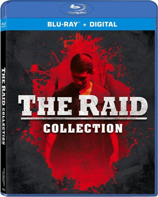 New The Raid Collection: Raid 2 & Raid Redemption (Blu-ray + Digital)