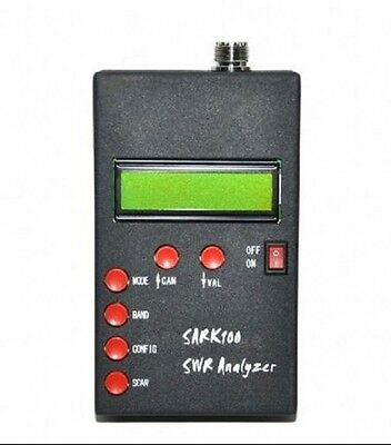 ANT SWR Antenna Analyzer Meter For SARK100 Ham Radio Hobbists New