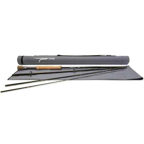 TEMPLE FORK OUTFITTERS  AXIOM II 9' 0  6 WT 4 PC TRAVEL FLY ROD +CASE FREE SHIP