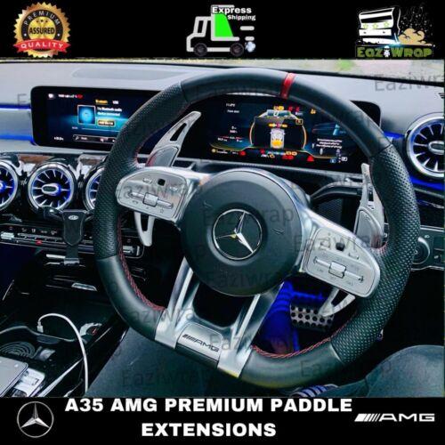Eaziwrap Mercedes A35 AMG Aluminium Paddle shift gear Extensions DSG shifters