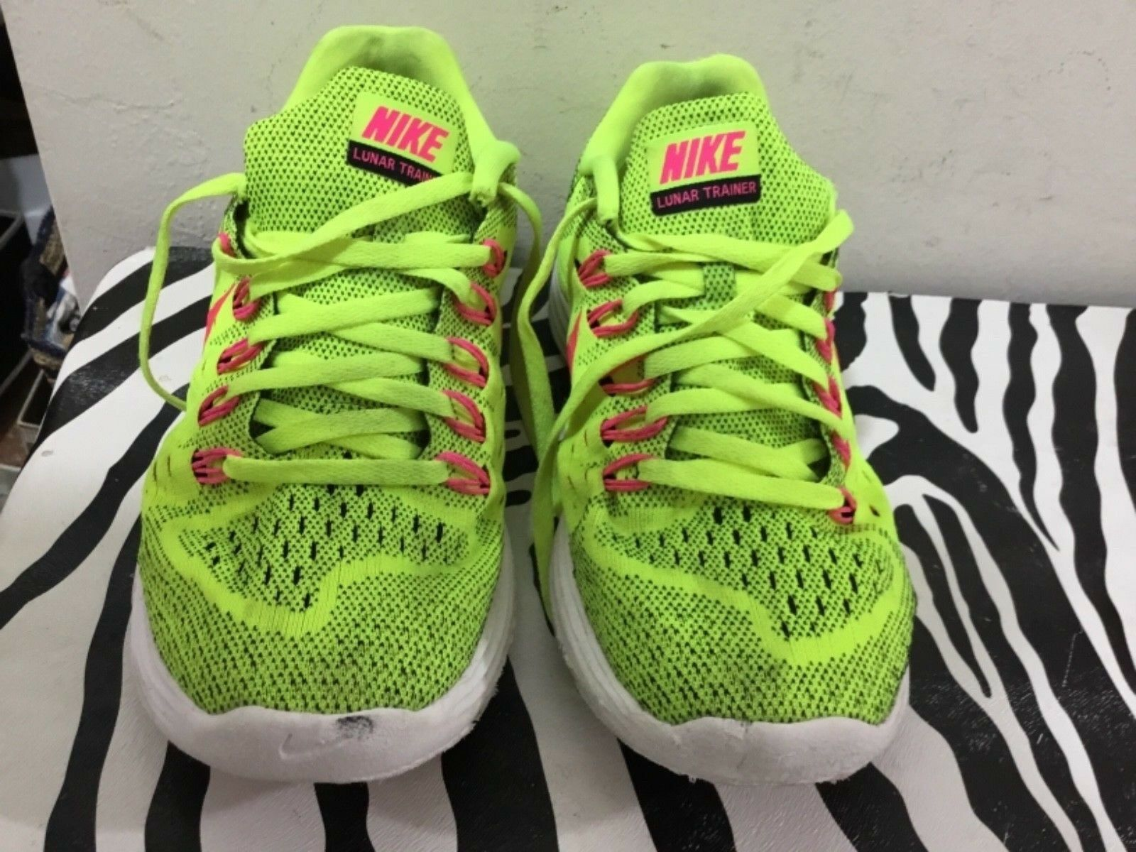 Nike lunar size 7.5 Ladies running shoes