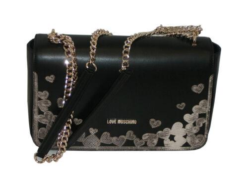 Pp05 Bag Nero Shoulder Borsa Jc4295 Love Moschino UXq7B0