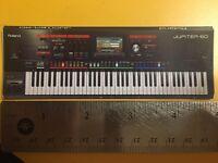 Roland Jupiter 80 Synthesizer Refrigerator Magnet Deluxe