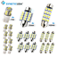 thumbnail 1 - Syneticusa 20x Combo LED Car Interior Dome Map Door License Plate Lights White