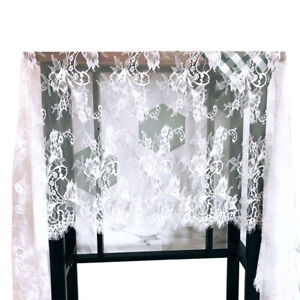 Details About Vintage Angel Lace Tablecloth White Classy Trendy Embroidered Home Party Decora