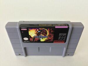 Details about Super Metroid Zero Mission rom hack SNES Super Nintendo NTSC  custom game cart