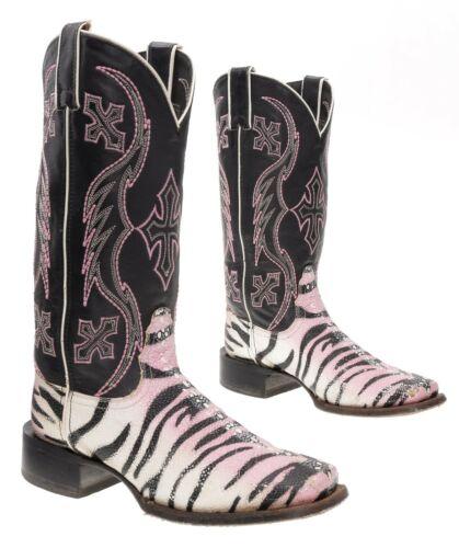 NOCONA Cowboy Boots 7 B Womens EXOTIC Faux Stingra