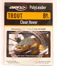 AIRFLO Polyleader TROUT 8ft / 2,40Mtr. CLEAR HOVER