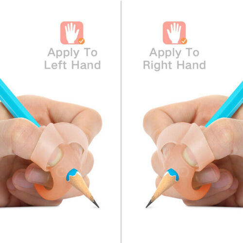 4Pcs//Set Kids Pencil Holder Pen Study Writing Aid Grip Posture Corrector Tools