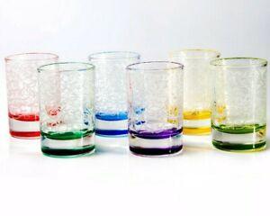 Conjunto-de-6-Vasos-de-Chupito-50-Ml-Vodka-Tequila-gafas-de-color-claro-EA