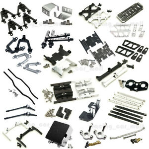 Alloy-Chassis-Lift-Plate-Skid-Plate-Bumper-Servo-Mount-Links-for-RC-Axial-SCX10