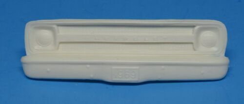 CPG69 Vintage AMT 1969 Chevy Pickup//Blazer Front Resin Grill /& bumper 1//25