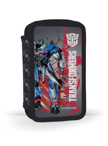 Transformers Roboter Auto 2-Fach FEDERTASCHE FEDERMAPPE gefüllt FEDERMÄPPCHEN ro