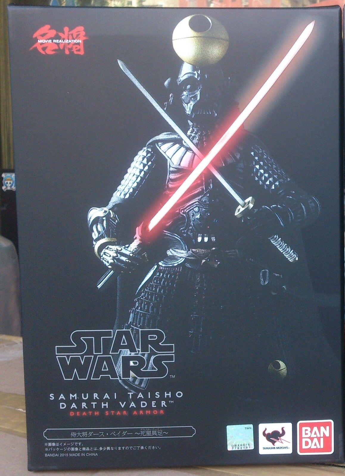 Meisho realización de películas Darth Vader Estrella Wars Samurai Taisho shiseigusoku