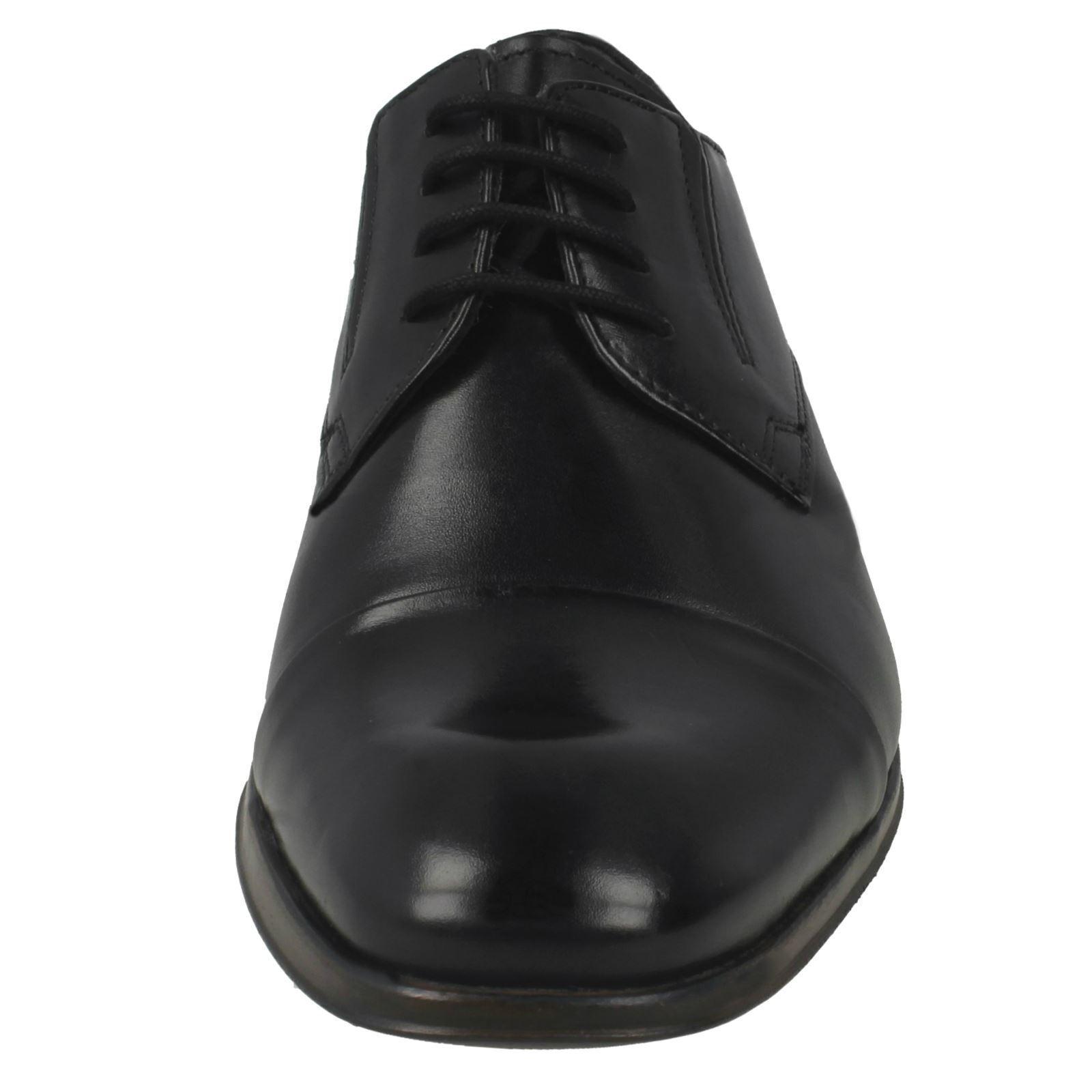 Herren Bugatti Bugatti Bugatti schwarz Leder Schnürschuhe Förmlich 312-40201 b1e291