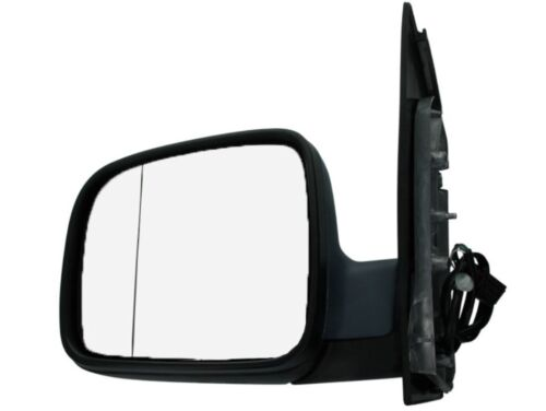 Außenspiegel elekt.Beheizbar Asphärisch Chrom Grundiert Links VW Caddy 2K 04-10
