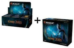 Magic Core Set 2021 M21 Booster Box + Bundle Fat Pack Combo MTG NEW SHIPS 7/3!