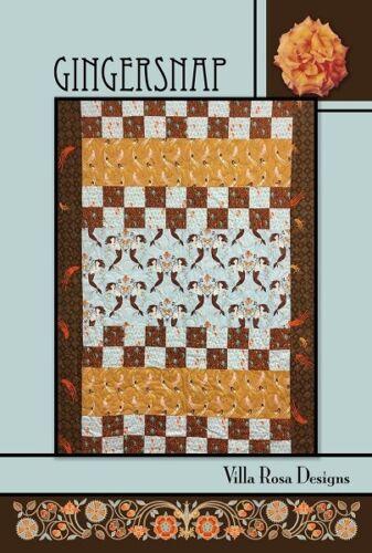 Gingersnap Quilt Pattern