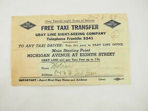 The-Gris-Linea-Libre-Taxi-Transferencia-Cupon-a-Cualquier-Driver-Chicago-Ill