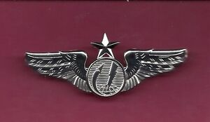 Details about Half Size Two inch US Remote Senior Pilot Aircraft Drone  Wings Badge USAF