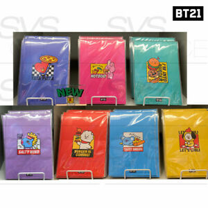 BTS-BT21-Official-Authentic-Goods-B5-Wired-Notebook-BITE-Ver-By-Kumhong-Fancy