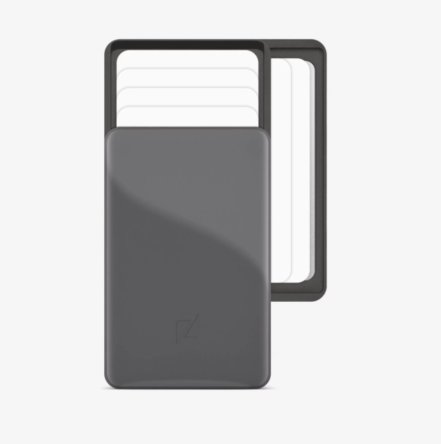Zenlet 2+ series elegant aluminium quick access wallet Credit Card Package|space