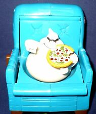 """1997 CASPER MOVIE """"FATSO"""" GHOST HIDES IN CHAIR WITH PIZZA SUBMARINE TRENDMASTERS"""