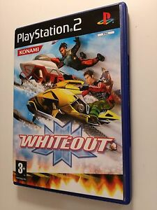 Whiteout-PS2-Playstation-2-Gioco-Videogioco