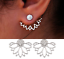 Womens-Earrings-Sterling-Silver-Plated-Round-Ear-Stud-Studs-Crystal-Dangle-Drop thumbnail 1