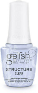 Harmony-Gelish-UV-Structure-Gel-034-CLEAR-034-in-the-bottle-0-5oz-BRAND-NEW