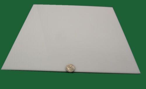 "White POM Delrin Acetal Sheet 3//32 .093 Thick x 12/"" Width x 12/"" Length,4 Unit"