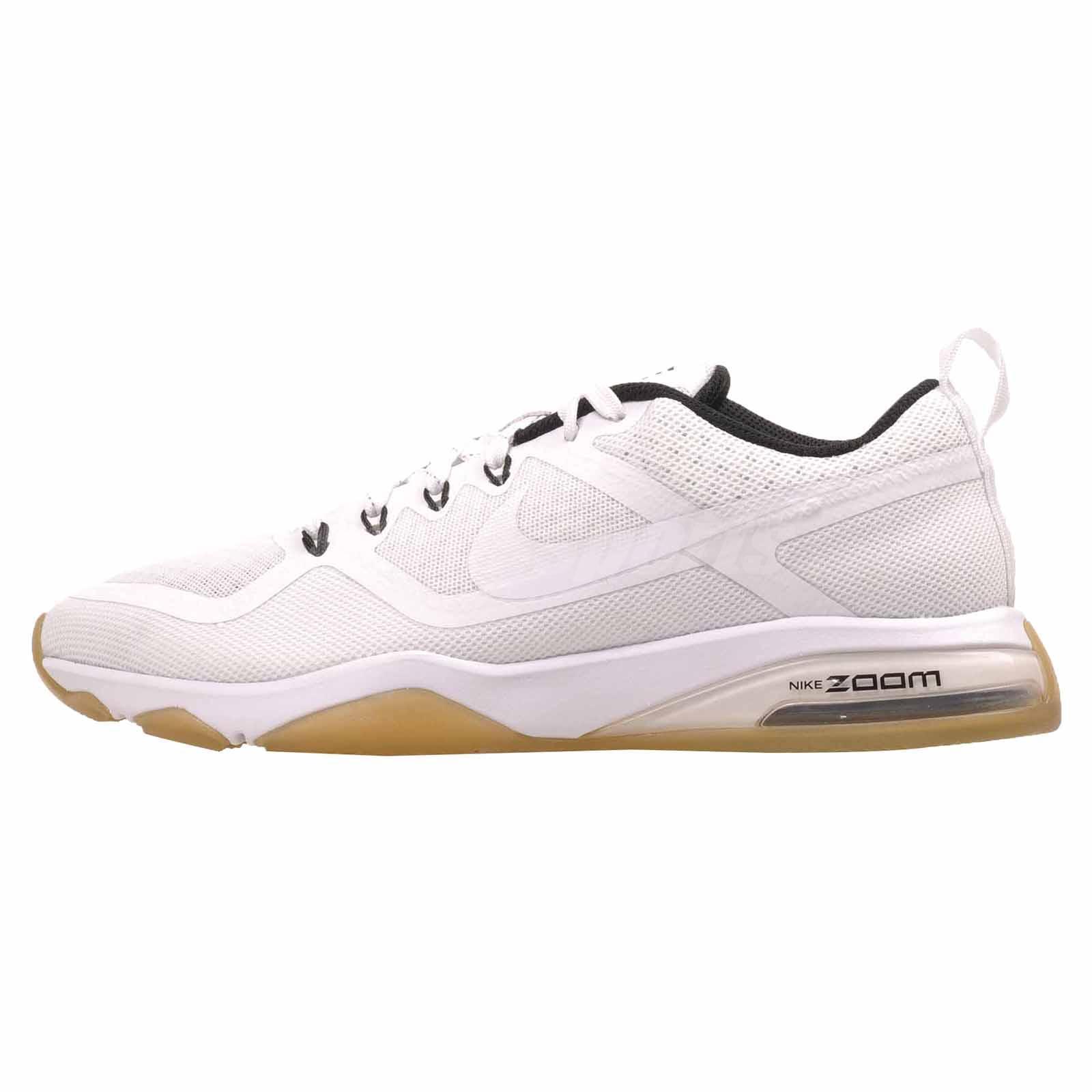 Nike Wmns Air Zoom Fitness Cross Training Womens Shoes White Black 904645-101