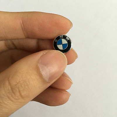 For DIY BMW LOGO Key Fob Overlay Vinyl Racing Performance Wrap Decal Sticker