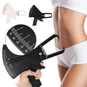 Body Caliper Skin Fold Measurement Weight Loss Health Fitness Gym 2color