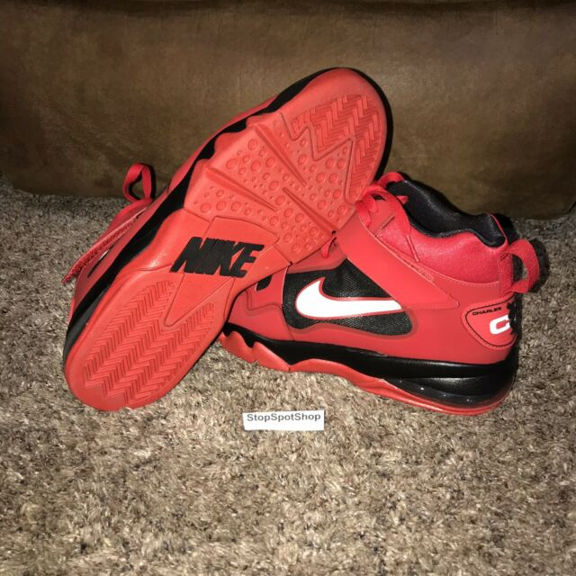 Nike Air Force Max CB 2 HYP Red Leather Shoes $150 616761 600 Mens 11.5 Rare