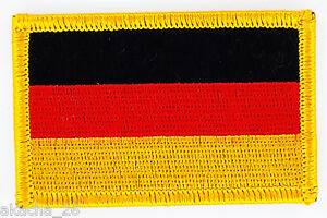 Patch Ecusson Brode Drapeau Allemagne Insigne Thermocollant Neuf Flag Patche Fdikgfi7-08001158-516023051