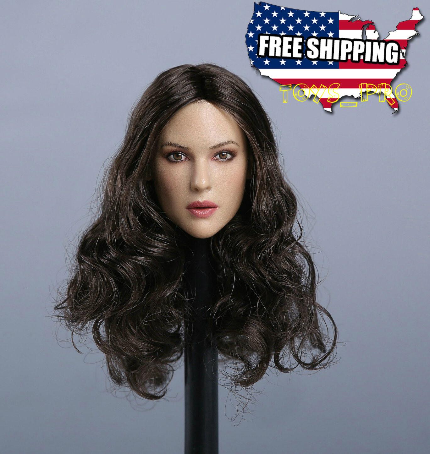 1 6 Monica Bellucci Head Sculpt For Hot Toys Phicen Kumik Female Figure ❶USA❶