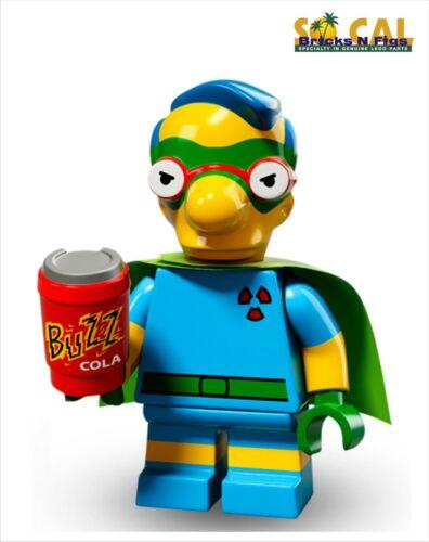LEGO 71009 Simpsons Series 2 Milhouse Unused Code