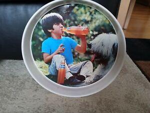 🍊Vintage Orange Fanta Original Tray, Mexico 🇲🇽 , 70's