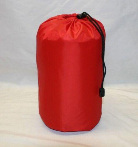 Waterproof nylon stuff bag sac sack Made in Britain.