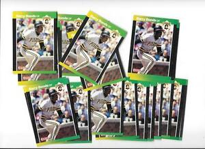 BARRY-BONDS-25-CARD-LOT-OF-1989-DONRUSS-92-FREE-COMBINED-S-H