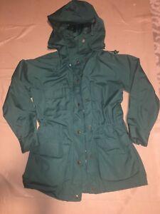 Hood Green Frakke Rain Bauer Parka Jacket Small Eddie fFaUAqPq