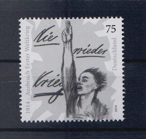 BRD-MiNr-3100-Postfrisch-Nie-wieder-Krieg-Erster-WK-1914-S-394d