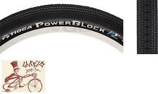 "TIOGA POWERBLOCK 24"" X  1.75"" WIREBEAD BLACK BMX BICYCLE TIRE"