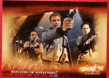 Joss Whedon's FIREFLY - Card #36 - Rescuers or Marauders? - Inkworks 2006