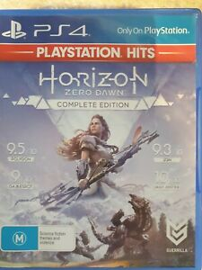 Horizon Zero Dawn Sony PlayStation 4 Ps4 Game Complete Edition