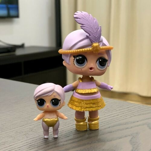 Real 2PCS LOL Surprise Dolls Series 4 Under Wraps Eye Spy The Great Baby /& Lil